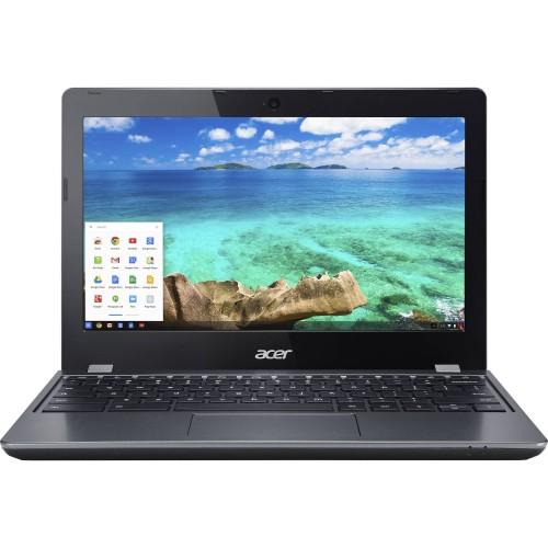 "Acer Chromebook C740-C4PE 11.6"" 16GB,Black (Refurbished)"