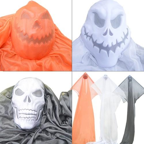 Halloween 3M Cloth Strips Hanging Ghost Decoration Horror Arrangement