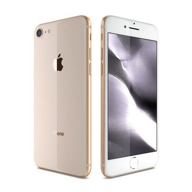 Apple iPhone 8 Plus, AT&T, Grade A, Gold, 128 GB, 4.7 in Screen