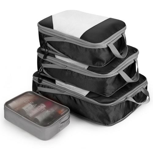 4-Pack Set Bltravel Suitcase Storage Bag Set Clothes Packing Cube