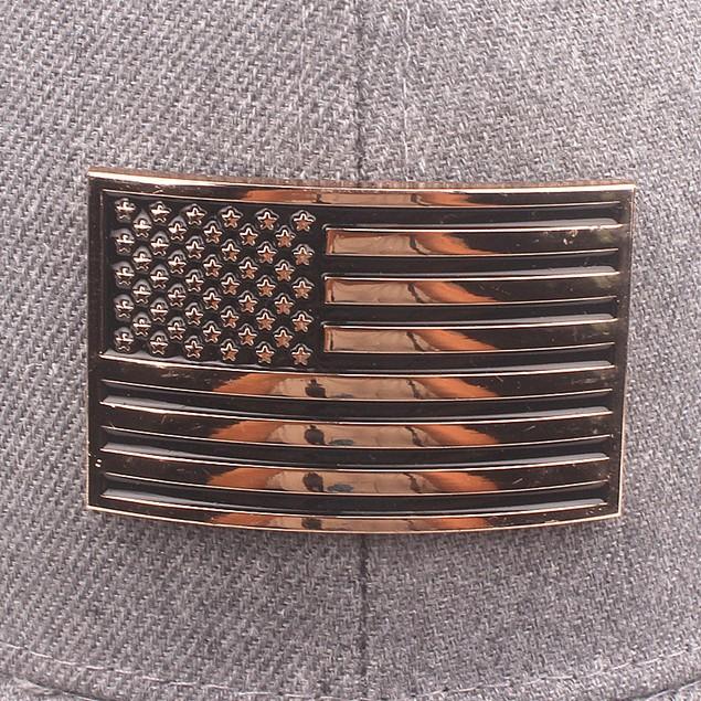 American Flag Patch Cotton Mesh Cap Men Hat Cap