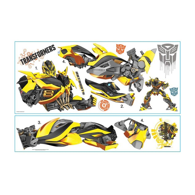 Roommates Decor Transformers: Age of Extinction Bumblebee Giant Wall Decal