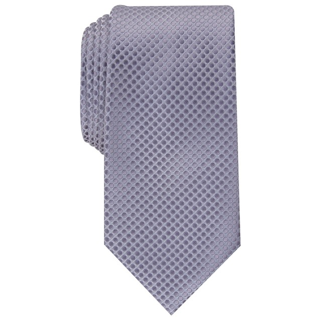 Perry Ellis Men's Victory Solid Tie Charcoal Size Regular