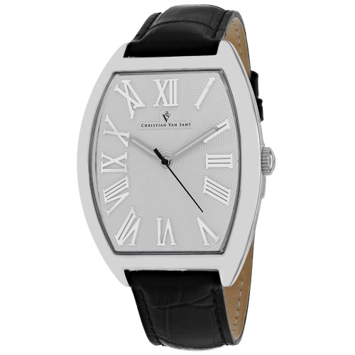 Christian Van Sant Men's SIlver Dial Watch - CV0270