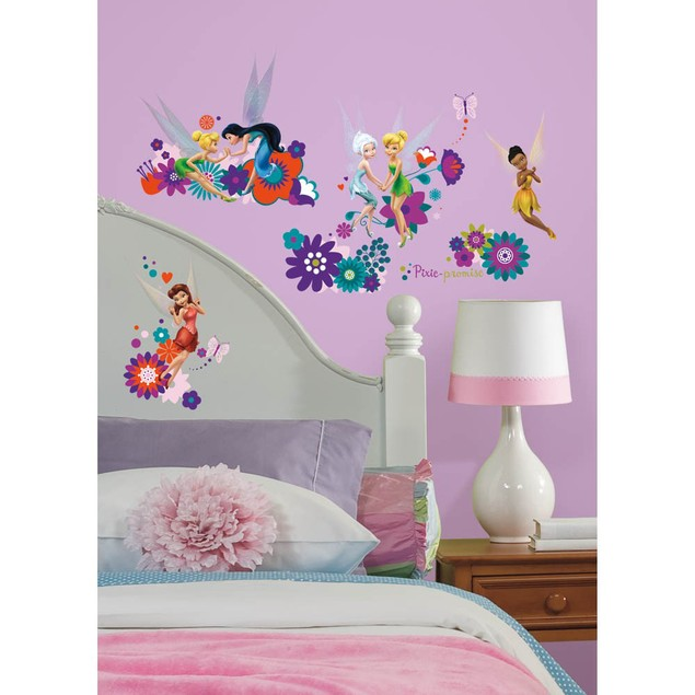 Roommates Baby Room Wall Decorative Best Disney Fairy Friends Wall Decals