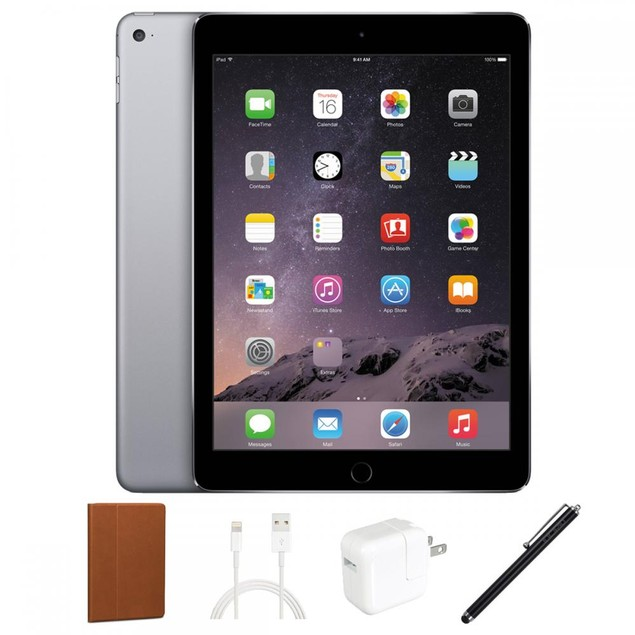 Apple iPad Air 16GB Bundle with Cover & Stylus (A Grade Condition)