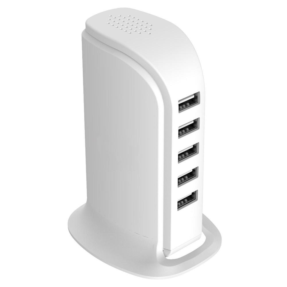 5-Port USB Fast Charging Power Station