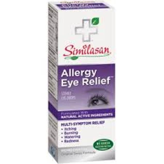 Similasan Allergy Eye Relief Eye Drops, No Vasoconstrictors Or