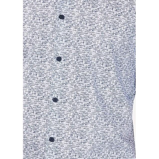Alfani Men's Geo Static-Print Shirt White Size X-Large