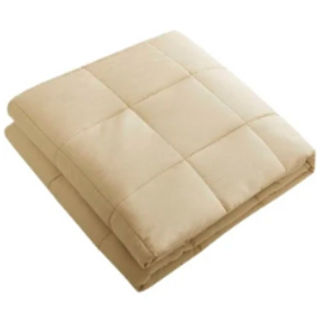 """100% Cotton Weighted Blanket 48"""" x 72"""" (15 lbs)"""