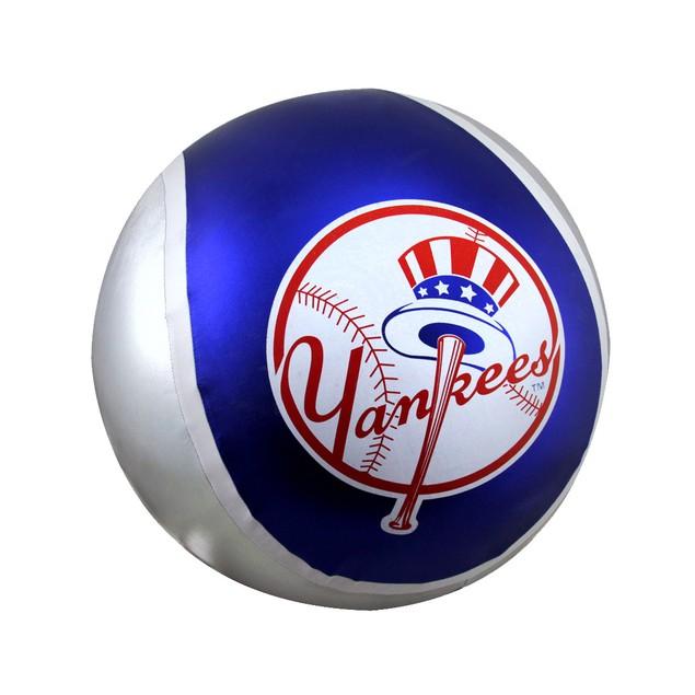 14 Inch Diameter Yall Ball New York Yankees Toy Balls