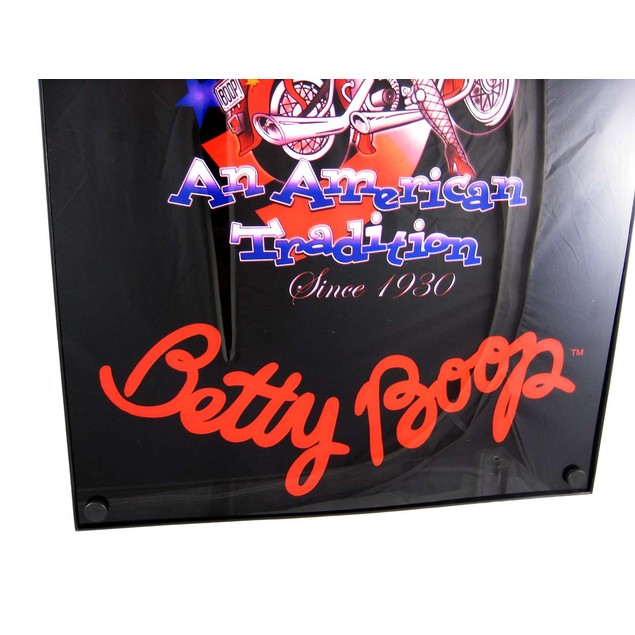 Biker Betty Boop American Tradition Neon Light Box Accent Lamps