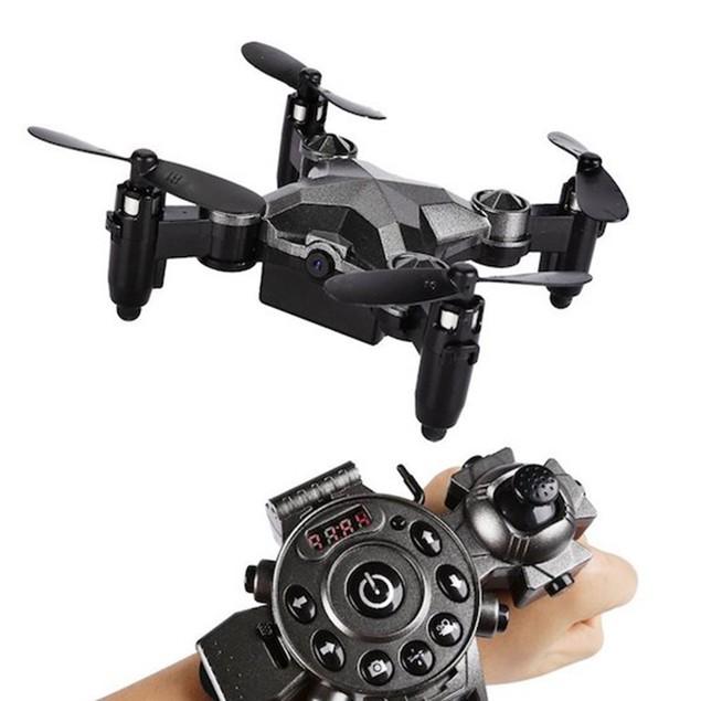 Watch Drone w/ FPV Camera & Foldaway Arms