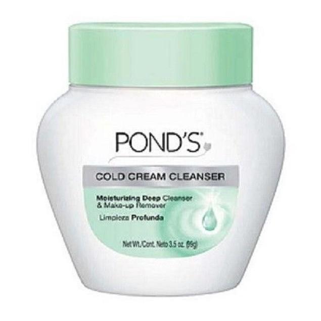Pond's Cold Cream Cleanser 6 oz Jar