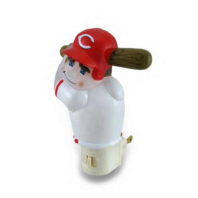 Cincinnati Reds Batter Up Mlb Team Night Light Childrens Night Lights