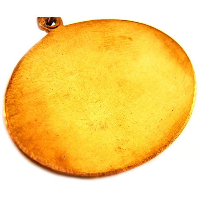 Voodoo Loa-Oshun Wealth Talisman Pendant Santeria Mens Pendant Necklaces