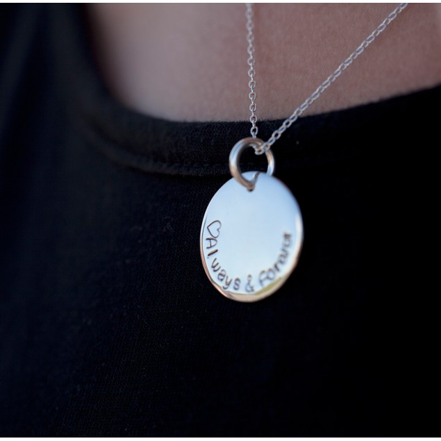 Personalized Hand Stamped Necklaces