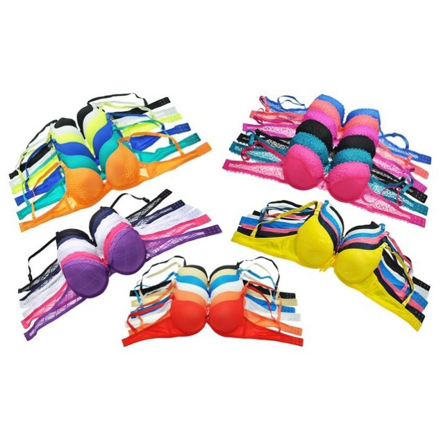 6-Pack Mystery Bra Deal in Regular and Plus Sizes