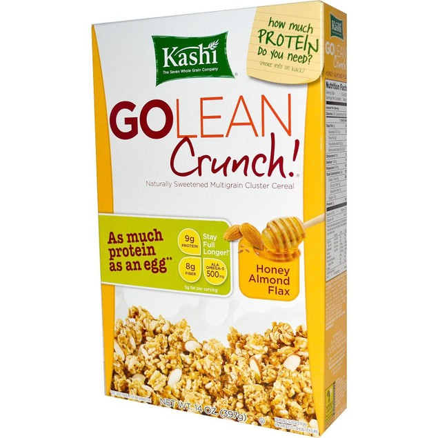Kashi Go Lean Crunch Cereal Honey Almond Flax