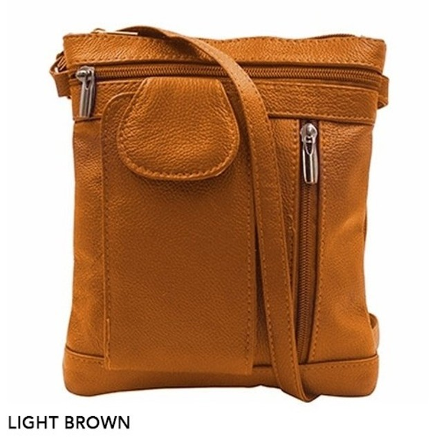 On-the-Go Soft Leather Crossbody Bag