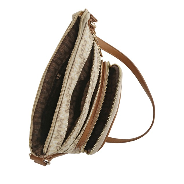 MKF Collection Iris M Signature Crossbody Bag by Mia K. Farrow
