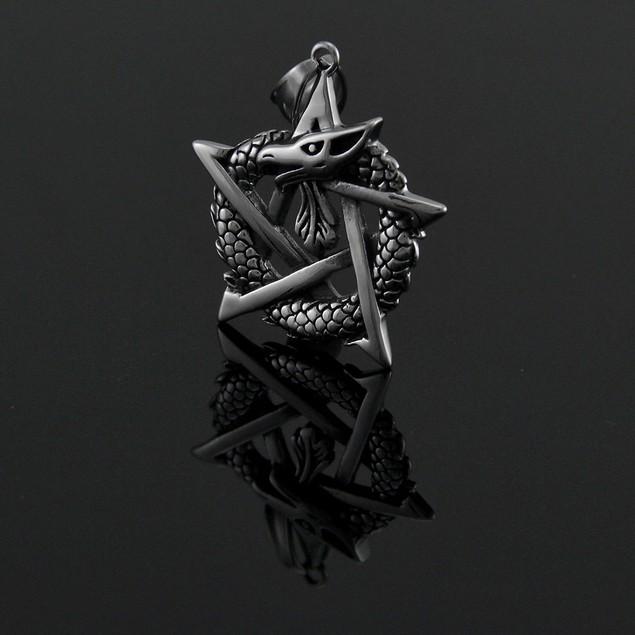 Ouroborous Dragon Totem Pendant For Good Health Pendants