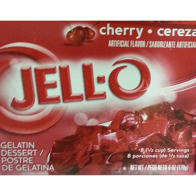 Jello Cherry Instant Jello Mix 6 oz Box