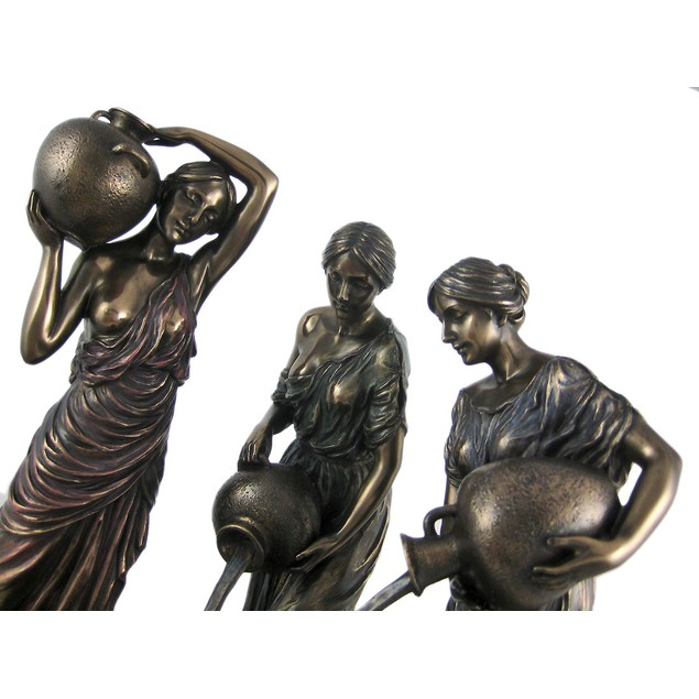 The Danaides Bronze Finish Statue Greek Mythology Statues