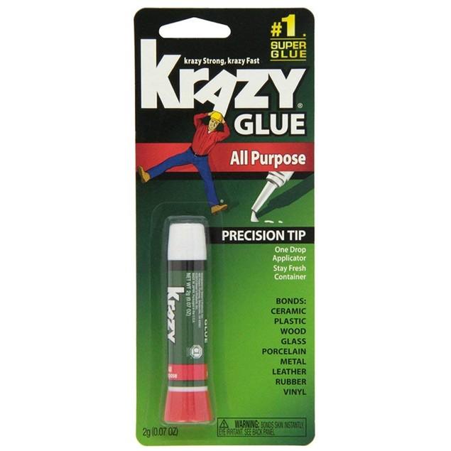 Multi-Pack Krazy Glue Original Crazy Super Glue All Purpose Instant Repair