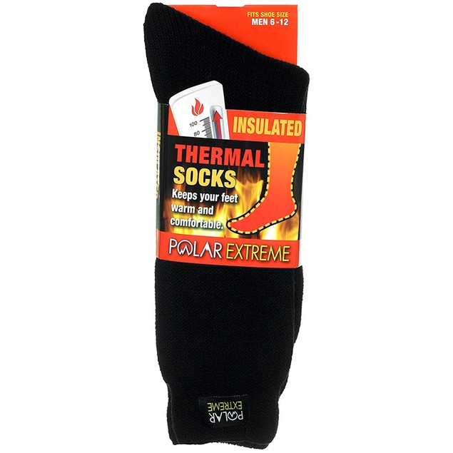 4-Pack Polar Extreme Thermal Unisex Socks