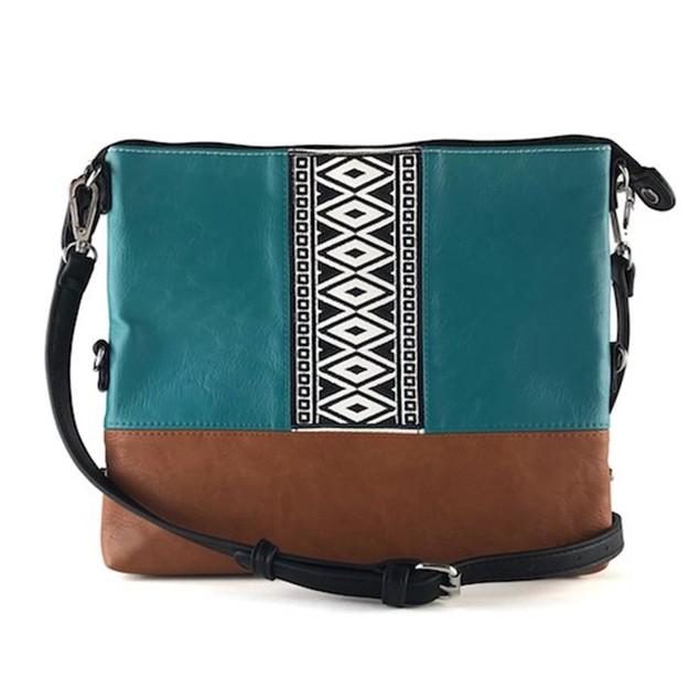 K&Bo Juniper Boho-Tribal Cross Body Bag