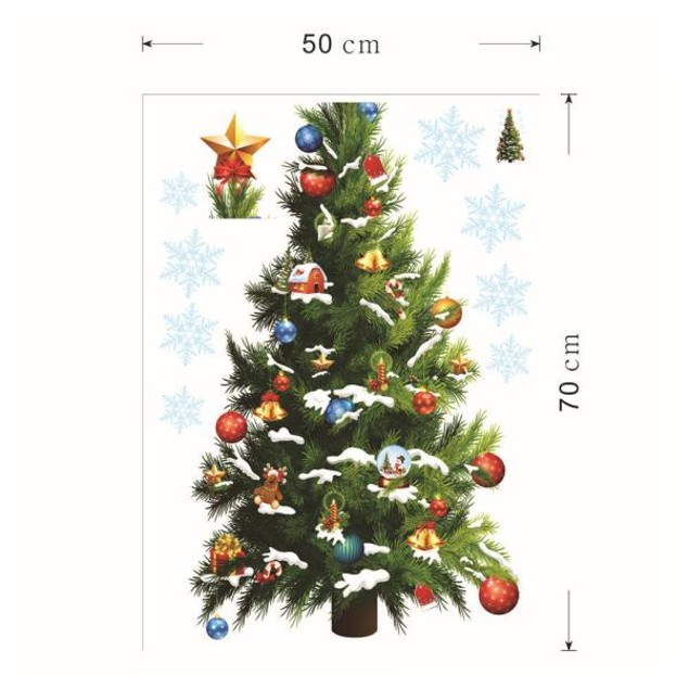 Christmas Decoration Decal Window Stickers