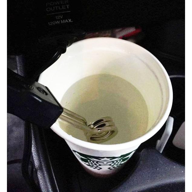 Zone Tech 12v Car Portable Travel Beverage Heater Warmer Coffee, Hot Cocoa