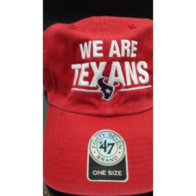 "Houston Texans NFL 47' Brand ""We Are Texans"" Adjustable Hat"