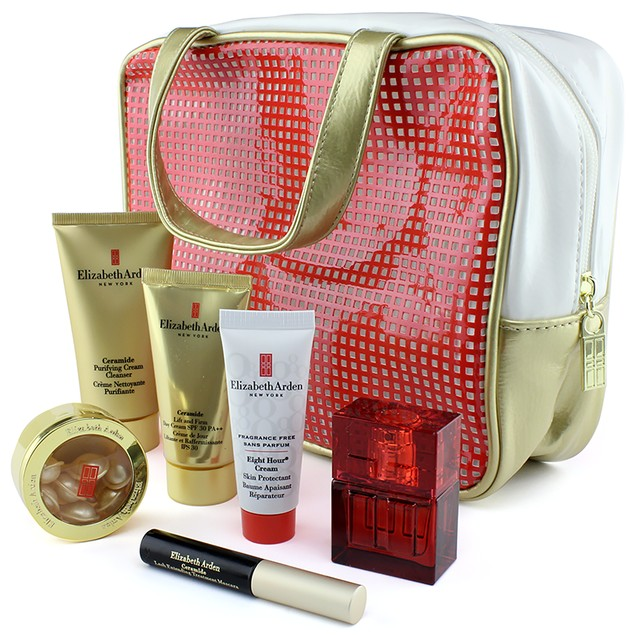 Elizabeth Arden 7-Piece Cosmetic Bag & Makeup Set