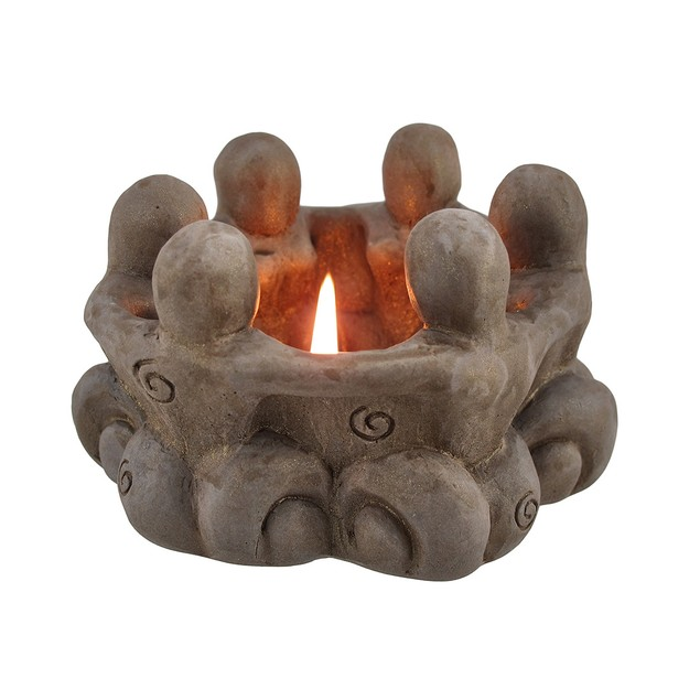 Goddess Circle Ceramic Tea Light Candle Holder Tea Light Holders