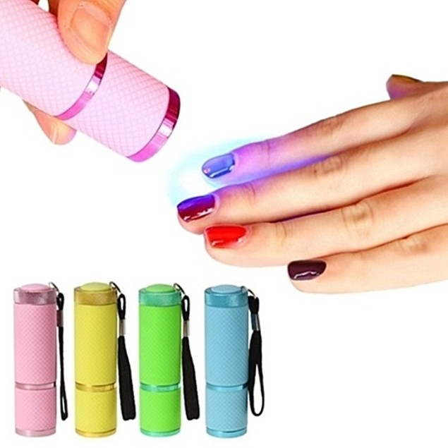 Portable UV Lamp Nail Polish Dryer in 4 Colors
