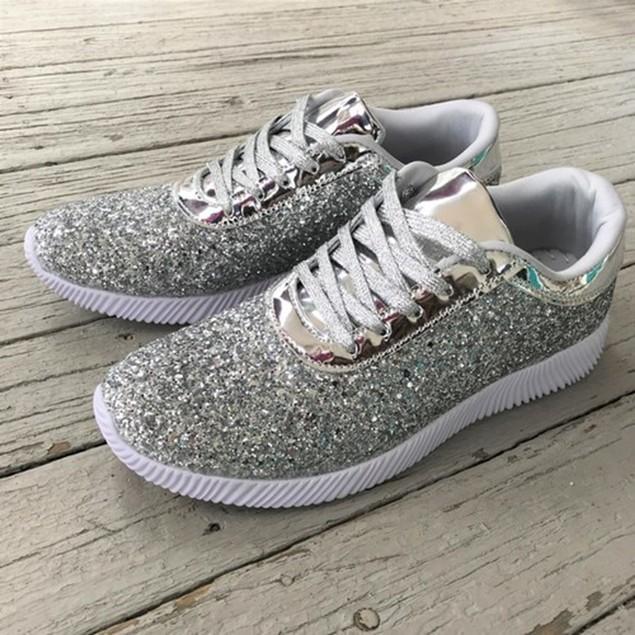 Mata Women's Glitter Sneakers