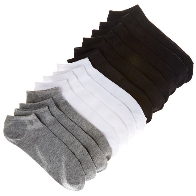 14-Pack Men's Everlast No Show Socks
