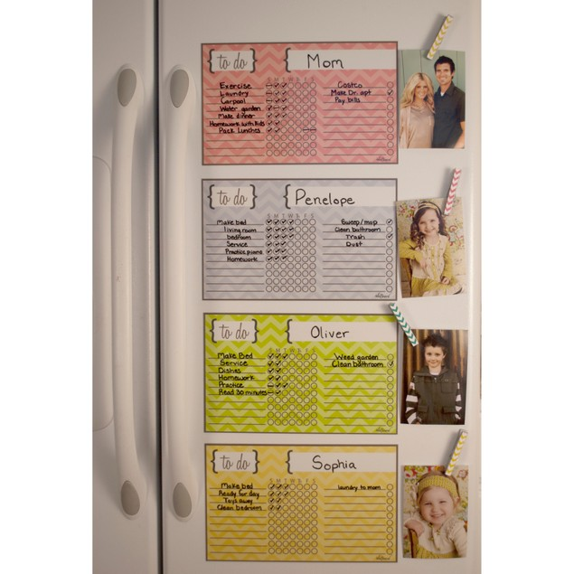 Dry Erase Chore Chart Magnets