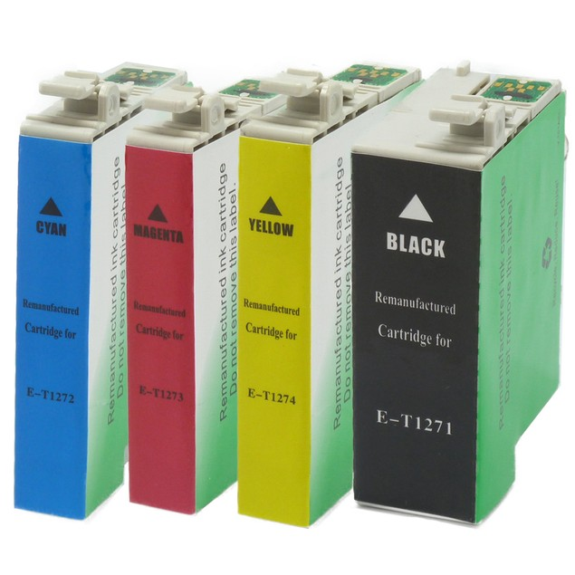 Epson T127 Compatible Ink 4-Pack