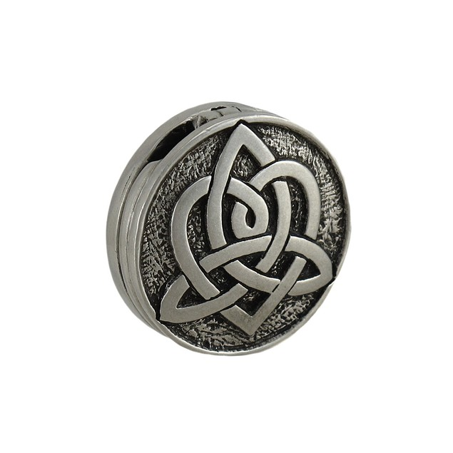 Lead Free Pewter Reversible Celtic Heart Love Individual Pendants