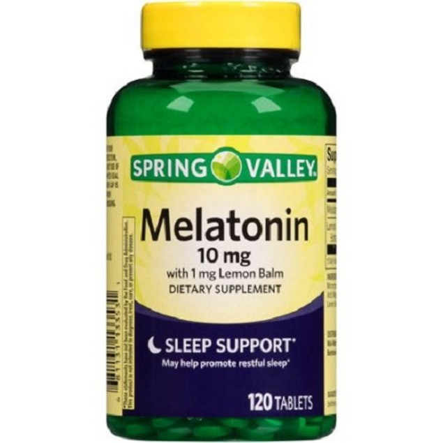 Spring Valley Melatonin 10 mg Sleep Support