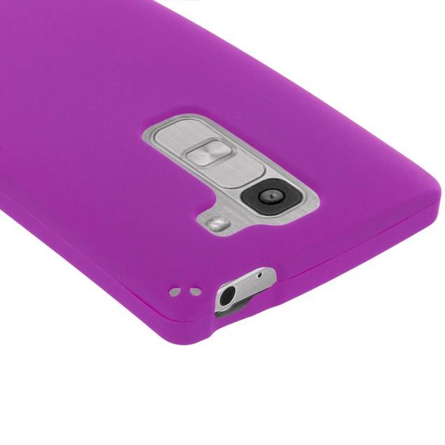 LG Escape 2 Hard Rubberized Case Cover