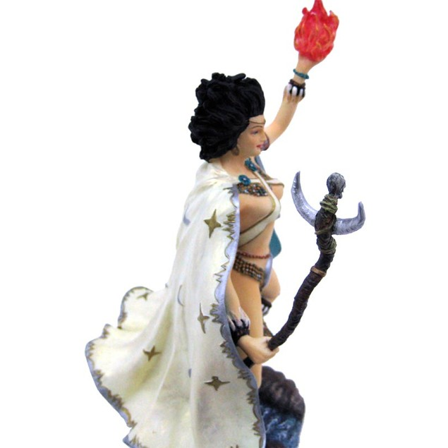 Wizardess Of The South Elemental Fantasy Figure Statues