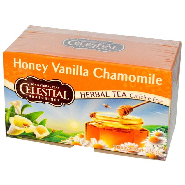 Celestial Seasonings Honey Vanilla Chamomile Tea