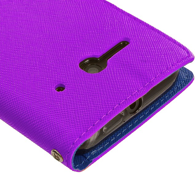 Alcatel One Touch Evolve 2 Wallet Flip Pouch TPU Case Cover