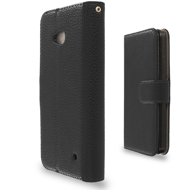 Nokia Lumia 640 Wallet Pouch Case Cover with Slots