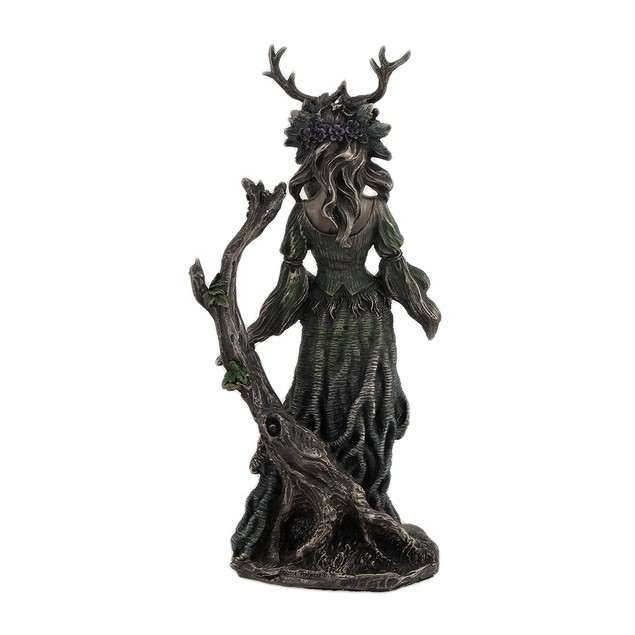 Guardian Goddess Of The Trees Bronze Finished Statues