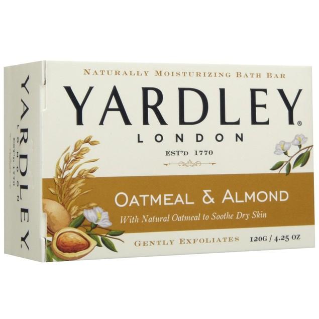 Yardley London Oatmeal & Almond Bar Soap 4.25oz Bar